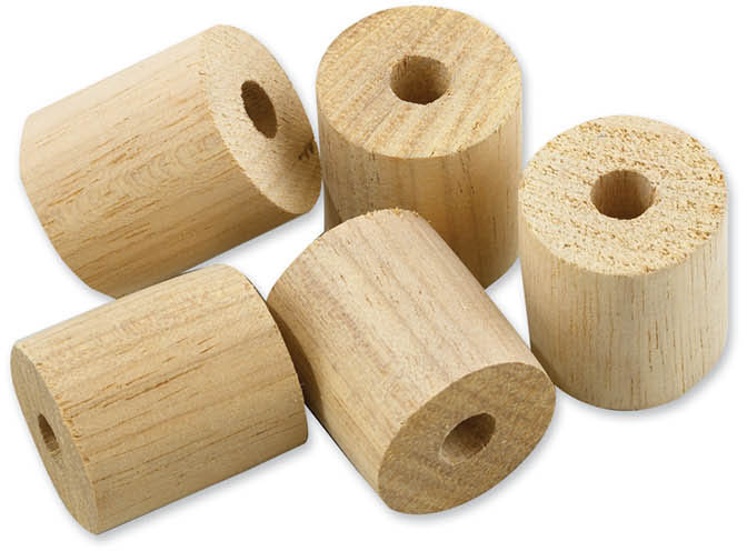 Hardwood Fall Pipe Bobbins