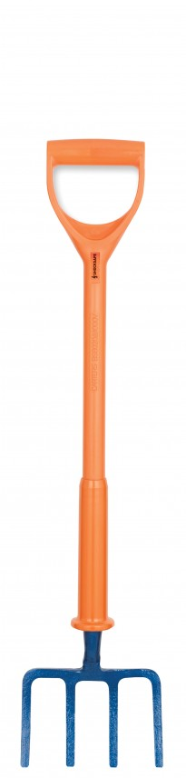 Solid Socket Short Prong Fork BS8020:2012 Insulated