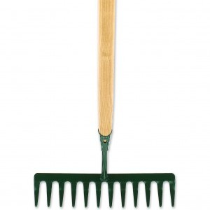 GardenPRO 12 Teeth Rake Ash Shaft